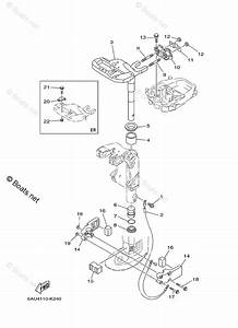 Yamaha Outboard Parts By Hp 9 9hp Oem Parts Diagram For Bracket 2