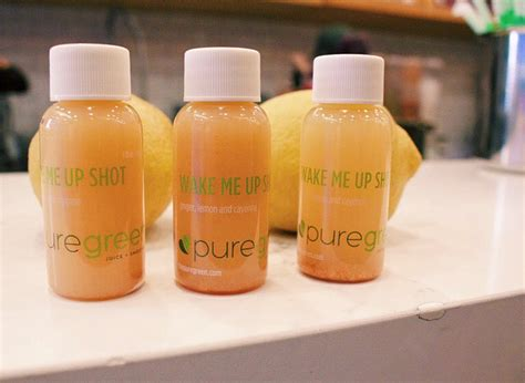 ginger shot shots juice daily pure taking should much puregreen why