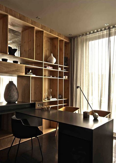 elegant masculine home office design ideas interior god