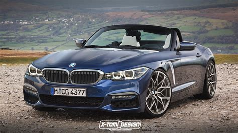 2018 bmw z4 looks sharp in latest cgi carscoops