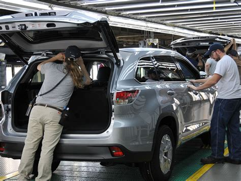 toyota preps  million expansion  indiana plant