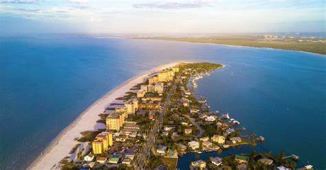 myers fort beach florida fl attractions things aerial