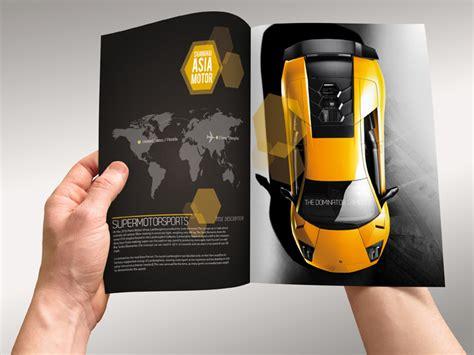 Automobile Brochure Design by 15 Superb Car Brochure Designs For Your Design Inspiration