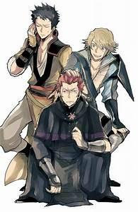 Fire Emblem Awakening: Owain, Brady, and Inigo - Inigo is ...