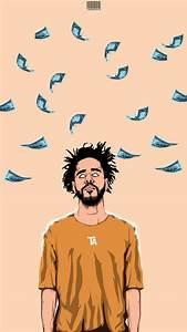 J. Cole - Money iPhone Wallpaper | Wallpaper by: kwamworks ...