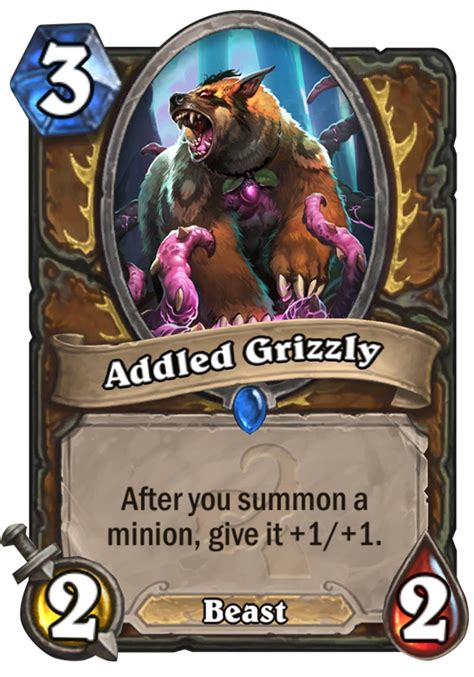 Hearthstone Beast Deck 2016 by Addled Grizzly Hearthstone Card