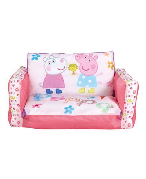 peppa pig flip  sofa bedroom girls lounger bed