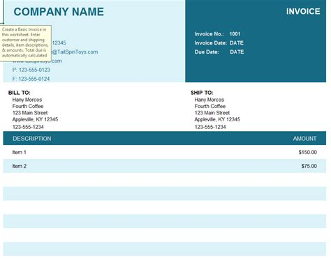 employed invoice template  word templates