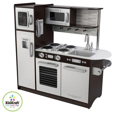 kidkraft modern country kitchen set kinderk 252 che k 252 che uptown espresso aus holz kidkraft 7632