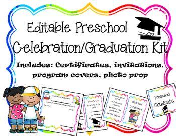 editable preschool graduation celebration printables by 536   original 1809421 1