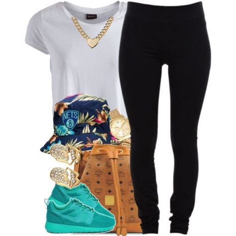 Hat bucket hat polyvore pinterest outfit dope swag gold jewelry - Wheretoget