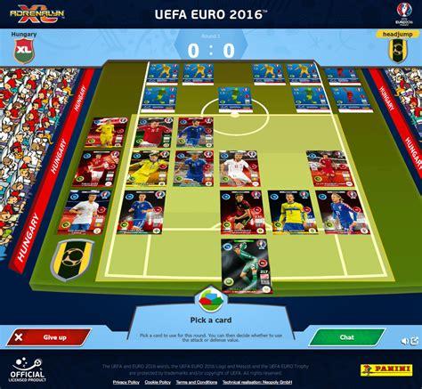 neopoly panini adrenalyn xl uefa euro