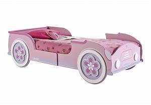 Kinderbett 90x200 Auto : autobett lady car m dchenbett kinderbett kinderzimmerbett in rosa wei 90x200 ebay ~ Whattoseeinmadrid.com Haus und Dekorationen