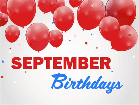 GALLERY: September Birthdays
