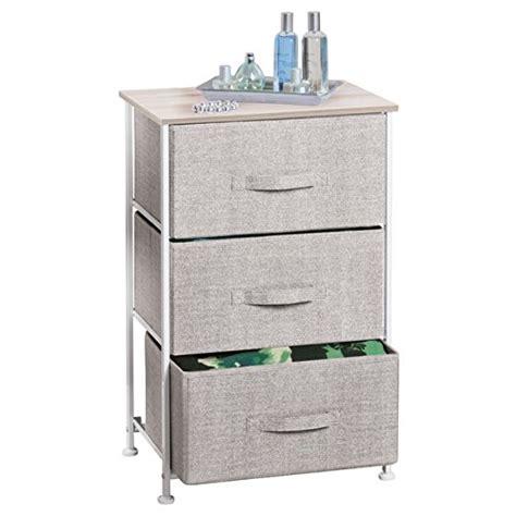 Mdesign Fabric Closet Systems 3drawer Storage Organizer