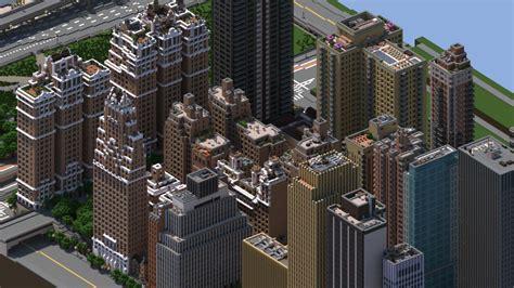 midtown manhattan  york city   minecraft map