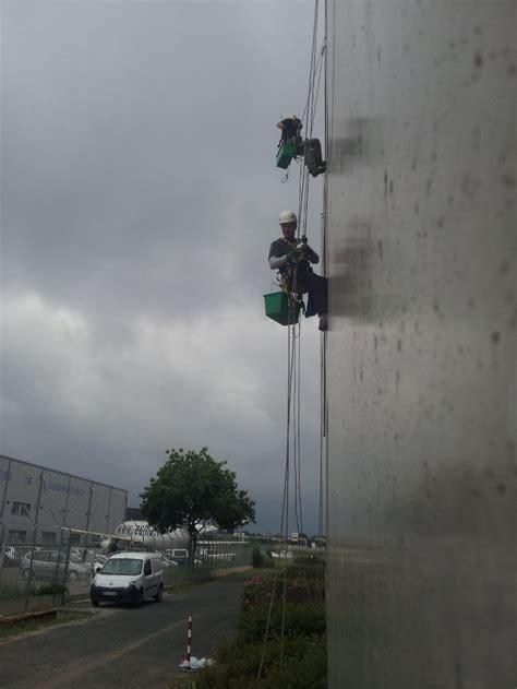 chambre du commerce montpellier cordistes travaux en hauteur sur cordes nettoyage
