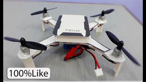 drone  home dji tello plastic box drone youtube