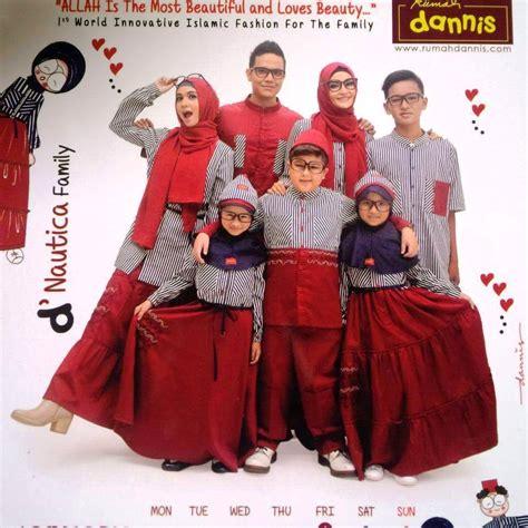cari busana muslim 13 koleksi baju muslim dannis trend terbaru gambar