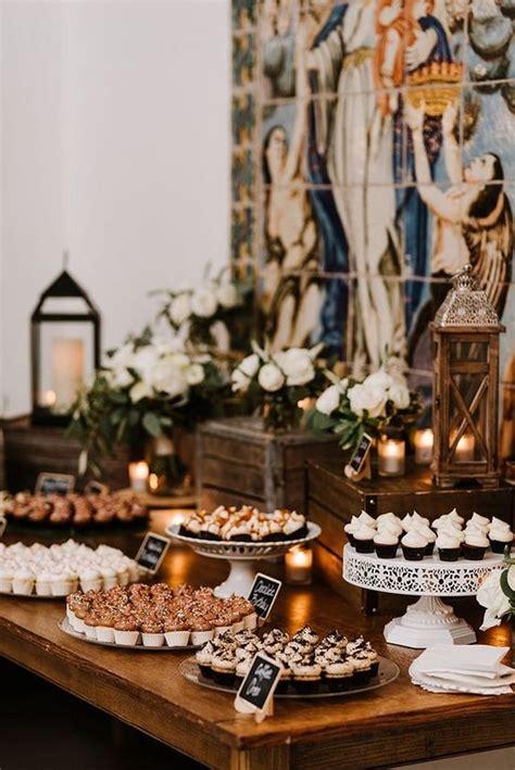 super sweet wedding dessert display  table ideas