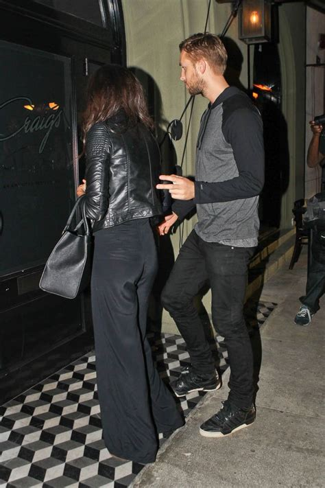 calvin harris steps out with aarika wolf again we smell mirror