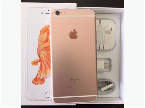 new iphone 6s plus brand new iphone 6s plus 128gb gold factory unlocked 15755