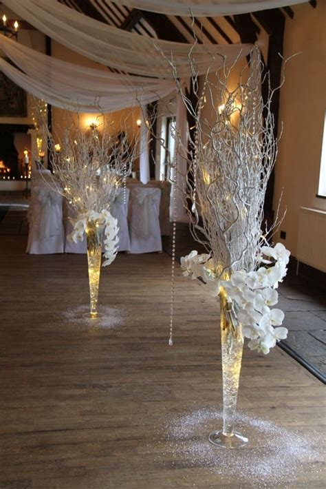 breathtaking silver wedding decoration ideas
