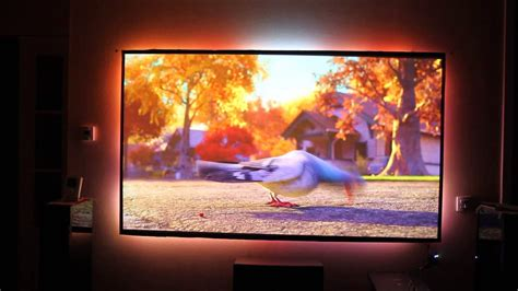 test ambilight  projector youtube
