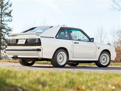 1984 Audi Sport Quattro Heading To Auction Gtspirit