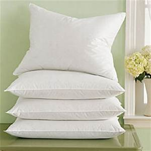 Goose feather down pillow king of cotton for Buy goose down pillows