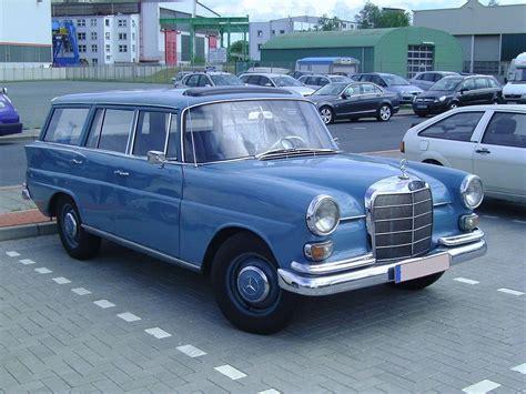 mercedes kombi mercedes w110 kombi an estate car version of the
