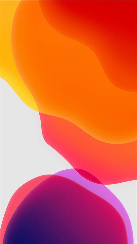 Apple Ios 13 Wallpaper 4k by Ios 13 Ipados Orange Wallpapers Hd Wallpapers Id 28574