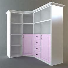 Corner Storage Cabinet 3d Model  Cgtrader