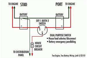 Dual Battery Wiring Diagram For Boat