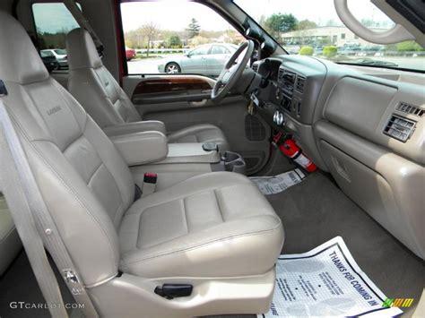 ford supercar interior medium parchment interior 2001 ford f250 super duty lariat