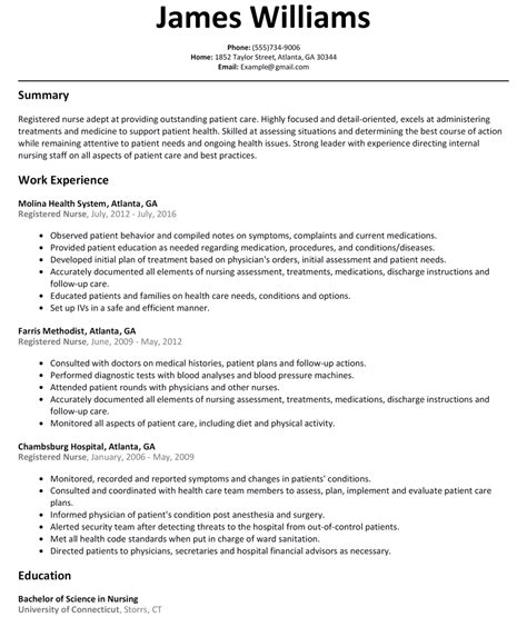 19957 registered resume template nursing resume exles with clinical experience