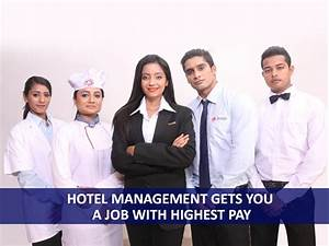 Which Course In Hotel Management Gets You A Job With