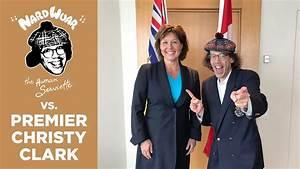 Nardwuar vs. Premier Christy Clark - YouTube