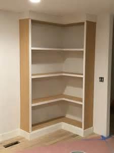 Build Corner Bookcase by Diy Corner Bookcase Video Withheart