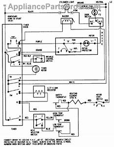 Parts For Crosley Cde22b8m  Wiring Information Parts
