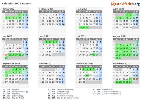 Feiertags januar 2021 kalender zum ausdrucken pdf word excel kostenlos druckbare jahreskalender 2020 bayern pdf druckbare 2020 jahreskalender nrw zum ausdrucken pdf. Kalender 2021 + Ferien Bayern, Feiertage