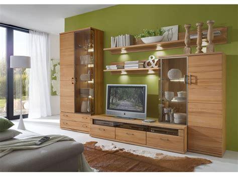 Welche Farbe Passt Zu Buchenholz by Ideal M 246 Bel Wohnwand Preno 5 Teilig Kernbuche Stab Massiv