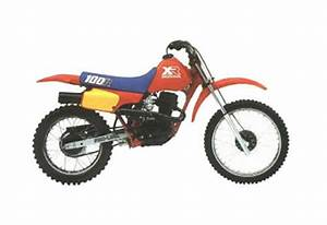 Honda Xr80r    Xr100r Service Manual Repair 1985