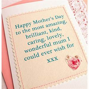 'amazing mum' handmade mothers day card by jenny arnott ...