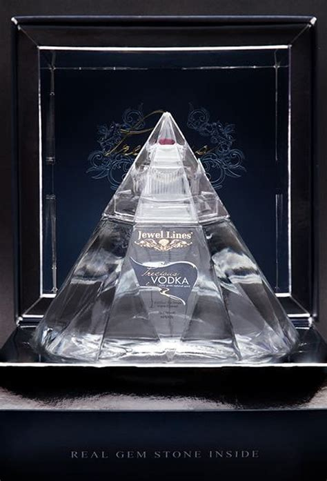 Precious Vodka With A Real Gem In Each Bottle