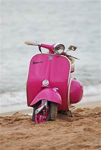 Beaches, Pinkvespa, Hot Pink, Vespa Scooters, The Beach ...