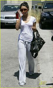 Full Sized Photo of vanessa hudgens gym workout 5 | Photo ...