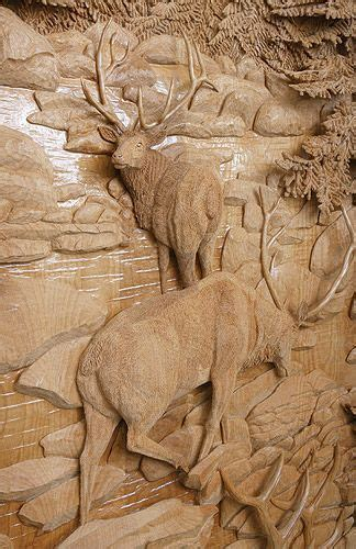 intricate wood carving pilomaterialy nastennye