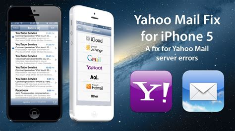 iphone cannot get mail iphone 5 yahoo mail fix for server problems