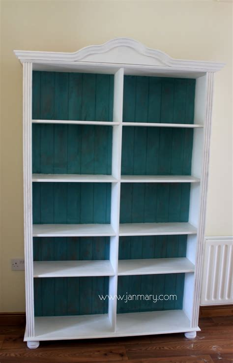 how to paint back of bookcase bookcase makeover with annie sloan chalk paint